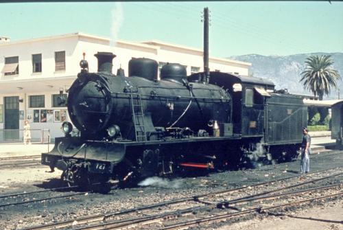 SP.S.015  Η Ε727 ΣΕ ΕΛΙΓΜΟΥΣ ΣΤΟΝ Σ.Σ.ΚΟΡΙΝΘΟΥ(ΦΩΤΟ A.LUFT 12/9/1962)